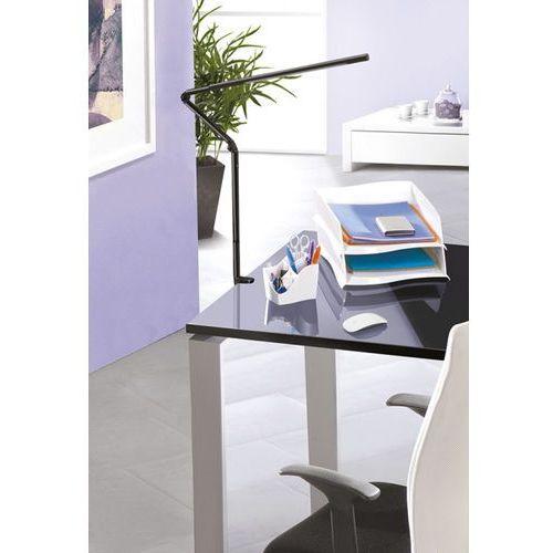 Lampka na biurko CEP CLED-510, 11,2W, ze ściemniaczem, mocowana zaciskiem, czarna - sprawdź w Mercateo Polska