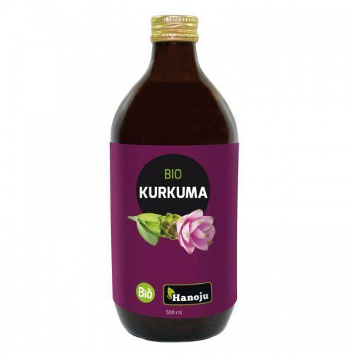 Bio kurkuma puree - sok 500 ml marki Hanoju