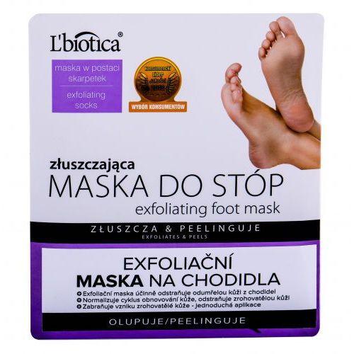 L´biotica foot mask exfoliating pielęgnacja stóp 1 szt dla kobiet (5907636934295)