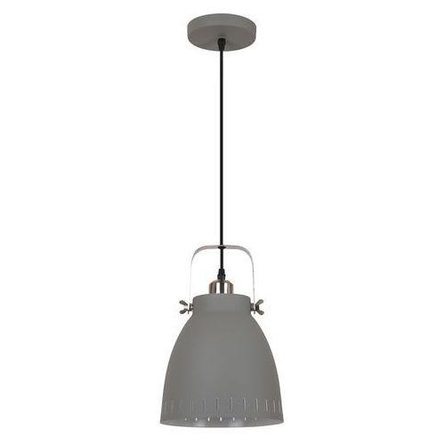 Italux Franklin lampa wisząca 1-punktowa szara md-hn8026m-gr+s.nick
