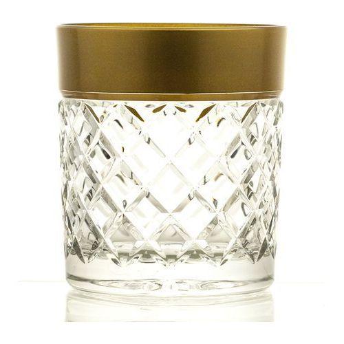 Szklanki kolorowe kryształowe do whisky 6 sztuk (16038) marki Crystal julia