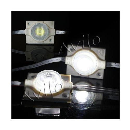 Moduł led - soczewkowy - diody smd 3535 - biały (zimny) - 3w! marki Avilo