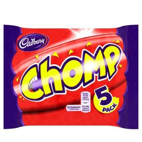 Cadbury Chomp batoniki czekoladowe z karmelem 117g