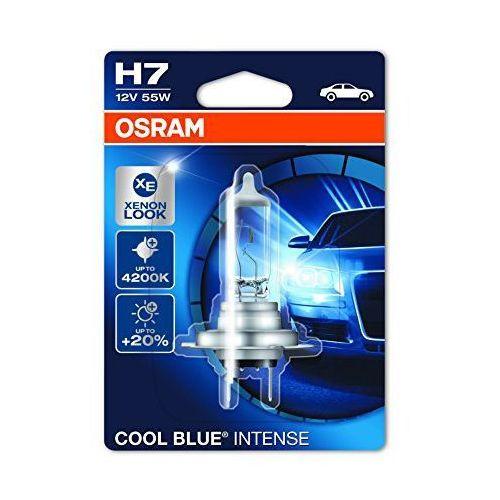 Żarówka samochodowa H7 OSRAM COOL BLUE® INTENSE, PX26d, 55 W, 12 V, 1 szt.
