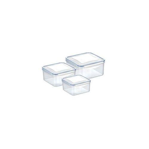 pojemnik freshbox 3 szt. 0.4, 0.7, 1.2 l kwadratowy marki Tescoma