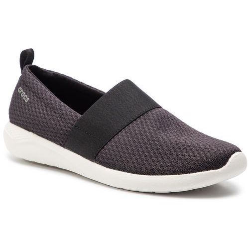 Sneakersy - literide mesh slip on w 205727 black/white, Crocs