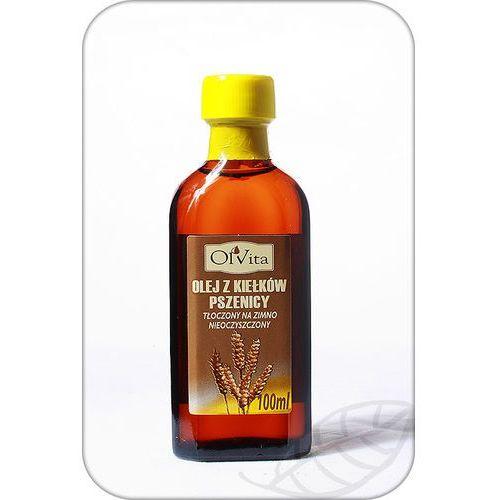 Olej z kiełków pszenicy tłoczony na zimno, nieoczyszczony 100ml - Olvita, 113