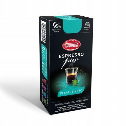 Kawa PALOMBINI Espresso Piu Decaffeinato 10 szt. (8009785380255)