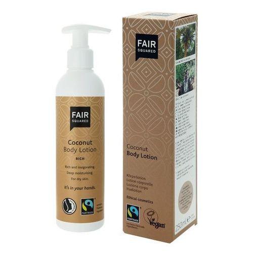 Fair squared Naturalny balsam do skóry suchej z olejem kokosowym, rich , 250ml