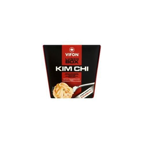 Lunch Box Kim Chi Danie błyskawiczne z kluskami ryżowymi pikantne 85 g Vifon (5901882014381)