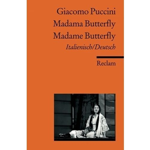 Madama Butterfly / Madame Butterfly (9783150183670)