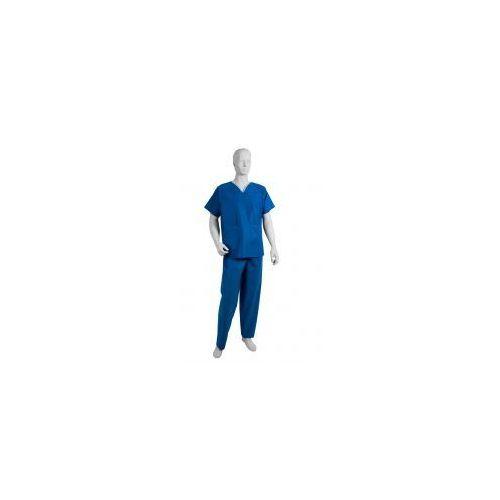 """Komplet chirurgiczny z włókniny niebieski """"L"""" 1szt (5906615103837)"""