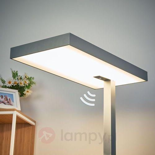 Stojąca lampa biurowa LED Nora, czujnik ruchu 50 W