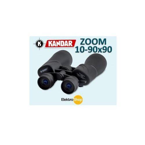 LORNETKA KANDAR ZOOM 10-90x90 SZKLANA OPTYKA BaK-4 z kategorii lornetki