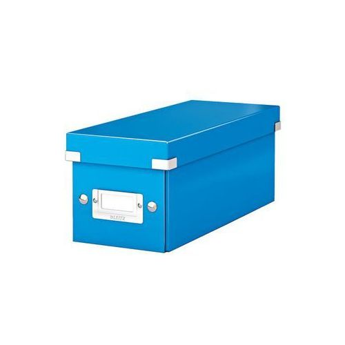 Pudło na cd  click&store wow 6041 - niebieskie, marki Leitz
