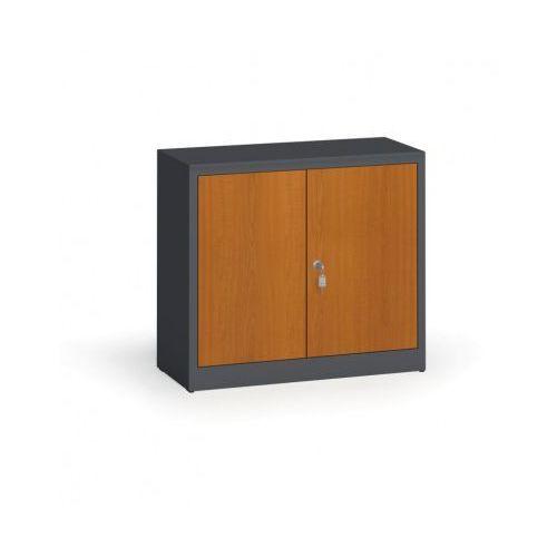 Alfa 3 Szafy spawane z laminowanymi drzwiami, 800 x 920 x 400 mm, ral 7016/czereśnia