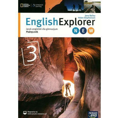 English Explorer 3 New. Gimnazjum. Język angielski. Podręcznik, Bailey Jane|Helen Stephenson