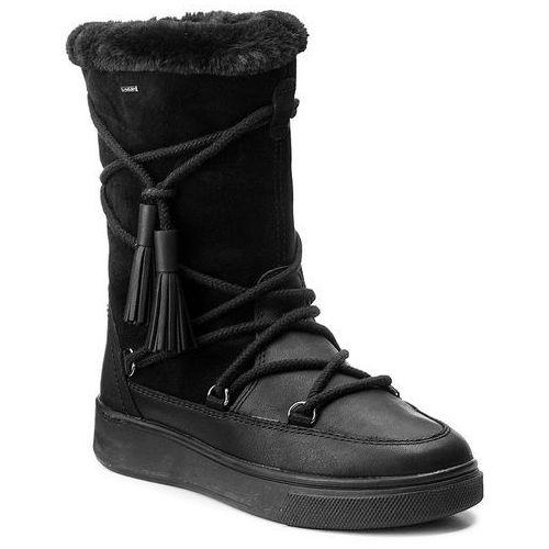 Śniegowce GEOX - D Mayrah B Abx A D743MA 04522 C9999 Black