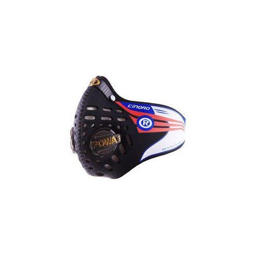 Maska antysmogowa RESPRO CINQRO czarna (RCN01BK) (5908262174406)