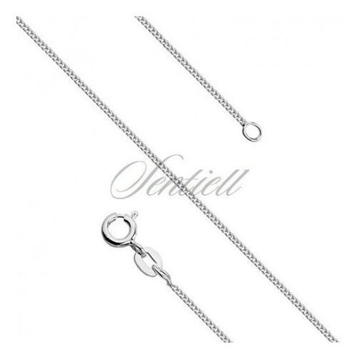 Silver (925) diamond-cut chain - curb Ø 027 weight from 1,05g - GSD027, GSD027