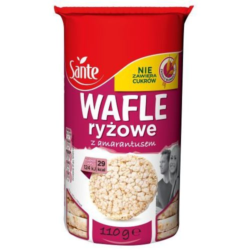 Sante Wafle ryżowe z amarantusem 110 g