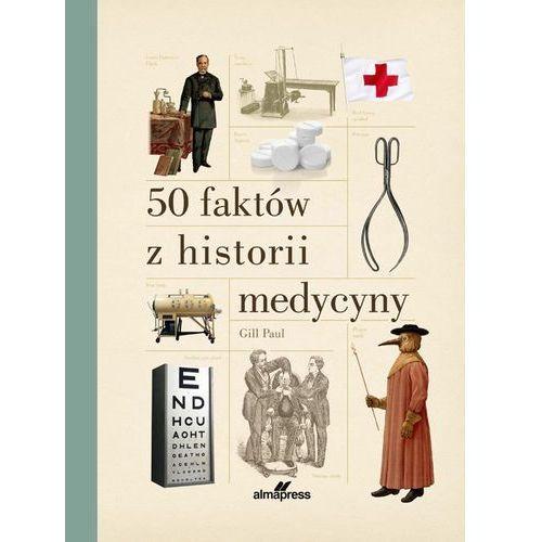 50 faktów z historii medycyny, oprawa twarda
