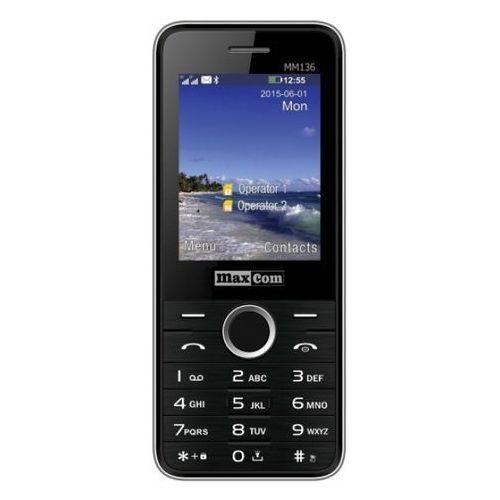 Telefon MAXCOM MM136 Czarny (5908235973524)
