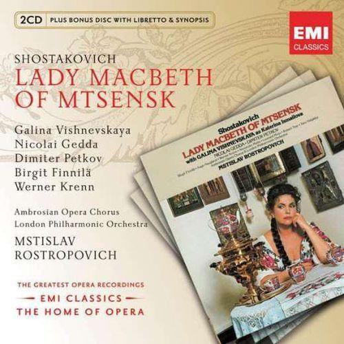 Warner music group Dimitri schostakowitsch - lady macbeth von mtsensk (2cd) (5099996683828)