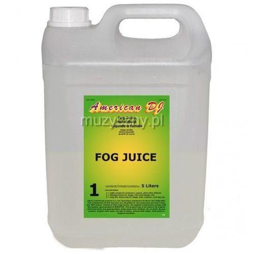 American dj fog juice light płyn do dymu 5 litrów