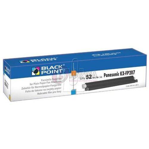 Black point Rolki do faksów , panasonic kx - fa 52 bppa52/ darmowy transport dla zamówień od 99 zł (5907625611008)