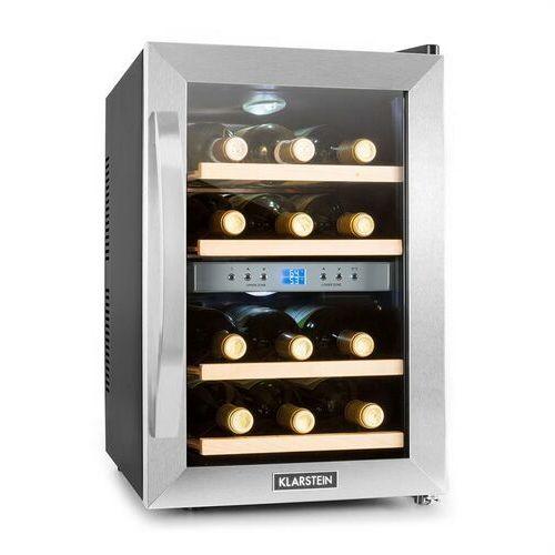 chłodziarka do wina firmy 34 litry 12 butelek marki Klarstein