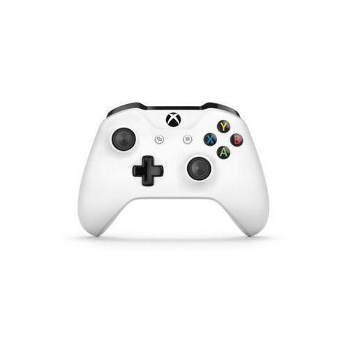 Kontroler bezprzewodowy MICROSOFT TF5-00004 Biały do Xbox One (0889842084351)