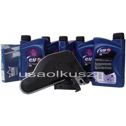 Filtr oraz olej ELF G3 automatycznej skrzyni biegów Cadillac Fleetwood 1991-1992