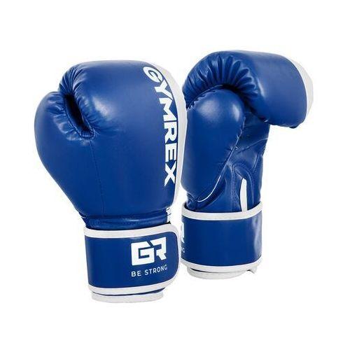 Rękawice bokserskie dla dzieci - biało-niebieskie - 6 oz marki Gymrex
