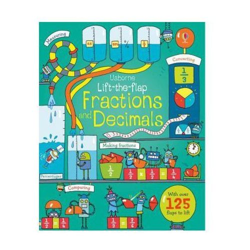 Lift-the-Flap Fractions and Decimals, Dickins, Rosie