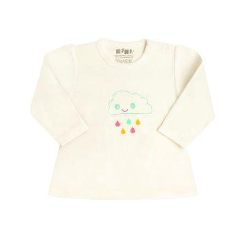0763be36cec4f4 Nini koszulka dziewczęca 80 biały, kolor biały 42,00 zł Dziewczęca koszulka  wykonana z organicznej bawełny, ma stylowy fason z wygodnym zapięciem na ...
