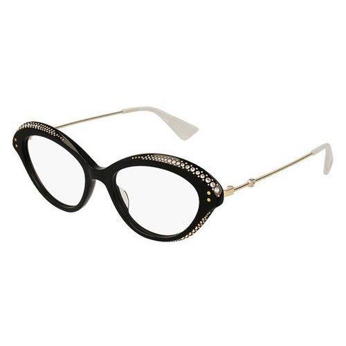 Gucci Okulary korekcyjne gg 0215o 001