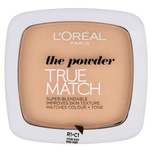 true match powder puder prasowany r1-c1 rose ivory 9g marki L'oreal