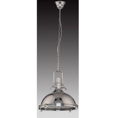 Industrialna LAMPA wisząca MADISON MA04099C-001 Italux przemysłowa OPRAWA metalowa loft chrom (5900644404439)