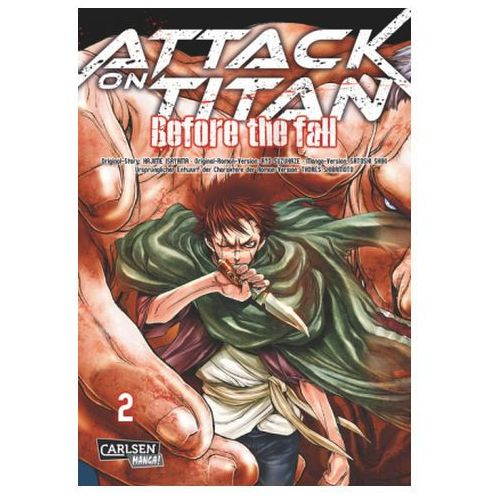 Attack on Titan - Before the Fall. Bd.2 (9783551743718)
