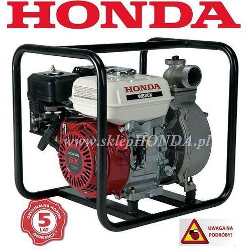 WB 20 X Motopompa HONDA (6 mm, 600 l/min) + OLEJ + DOSTAWA GRATIS