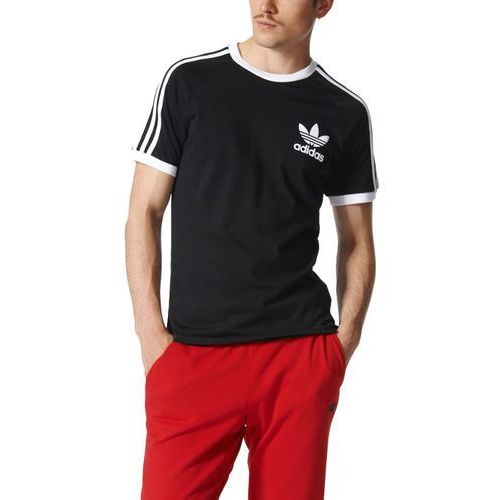 adidas Originals CALIFORNIA Tshirt z nadrukiem black, BUN19