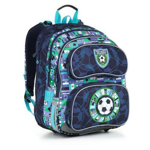 Topgal Plecak szkolny chi 884 d - blue (8592571008469)