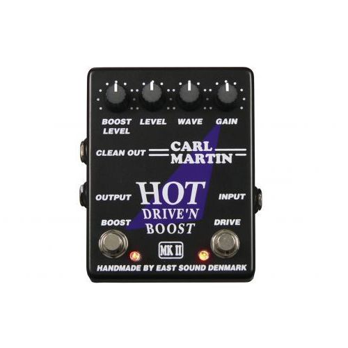 Carl martin hot drive′n boost mkii efekt gitarowy