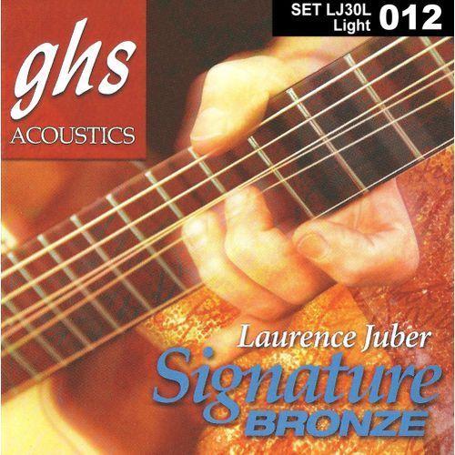 Ghs laurence juber signature bronze struny do gitary akustycznej, light,.012-.054