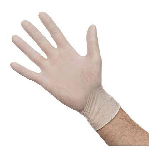 Rękawiczki jednorazowe lateksowe M | 100 szt.