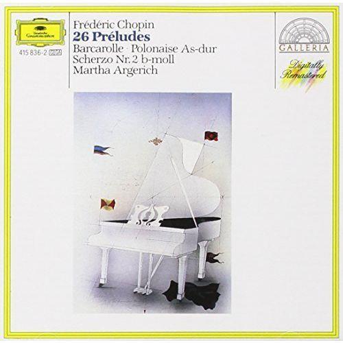 Universal music / deutsche grammophon Martha argerich - chopin:24 preludes (0028941583628)