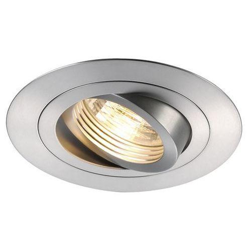 Spotline Oczko new tria gu10 xl okrągłe aluminium szczotkowane, 113446