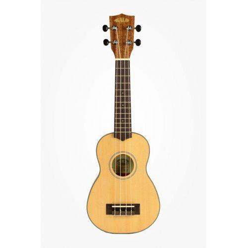 ka sstu spruce top mahogany travel soprano, ukulele sopranowe z pokrowcem marki Kala
