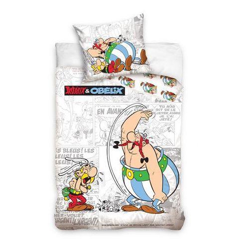 Tip Trade Dziecięca pościel bawełniana Asterix i Obelix komiks, 140 x 200 cm, 70 x 80 cm od 4HOME